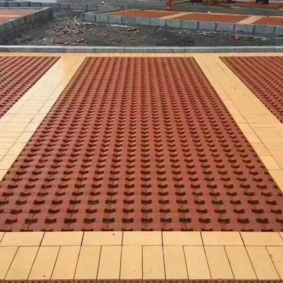 PC仿石砖_陶瓷透水砖_岩土砖_烧结砖_生产厂家