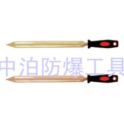 河北泊头厂家供应桥防牌防爆三角刮刀,半月刮刀