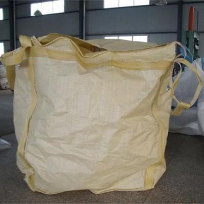 保定市吨包袋四吊上面大开口底部小漏口型吨袋 吨包编织袋