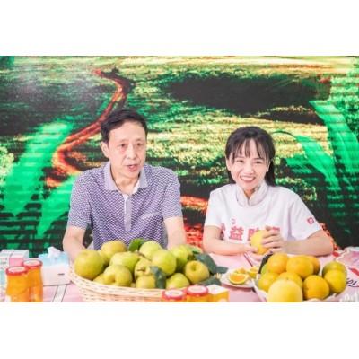 """神首集团黄寿仙援鄂助农单场直播卖掉125吨""""湖北水果"""""""