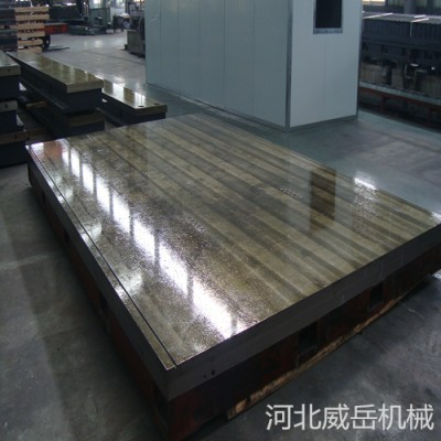 天津 半成品附图纸  铸铁底板 试验平台 长期现货供应