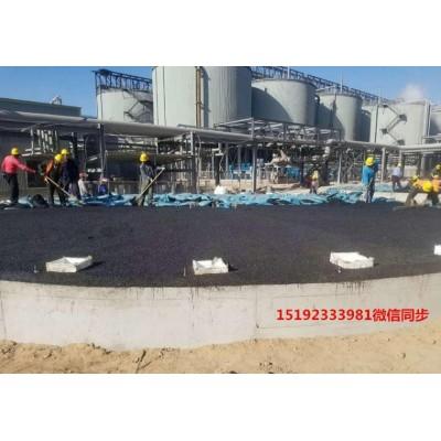 山东淄博沥青砂垫层罐底防腐承上启下只需铺筑10CM