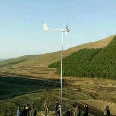 牧用型水平轴风力发电机低速启动3级风发电小型风电设备