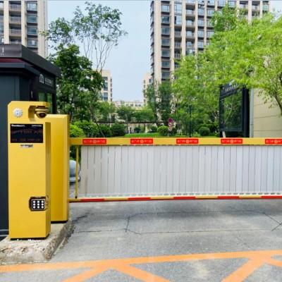 沈阳红门车牌识别厂家 停车场专用识别管理系统安装