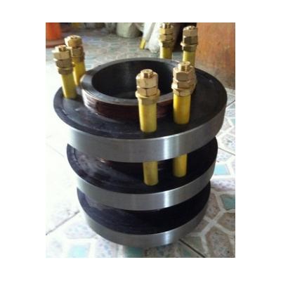 华海定制YRKK重庆赛力盟钢滑环-YR710-6电机铜集电环