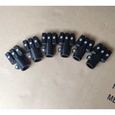 厂家批发伸缩杆塑料配件艾灸仪器支架链接配件伸缩杆塑料接头