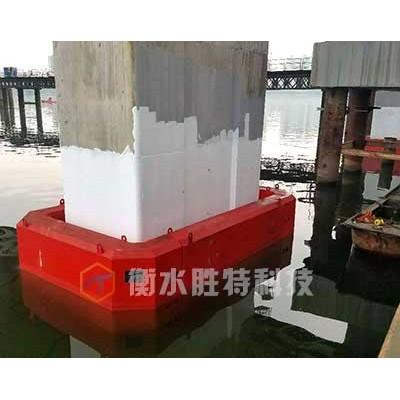 自浮式复合材料桥梁防撞设施  柔性桥墩防撞设施防撞块