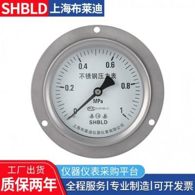 上海布莱迪Y-60Y-602Y-602T真空压力表普通压力表