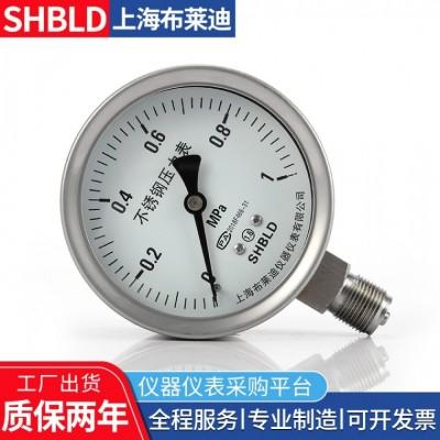 上海布莱迪YB-150A YB-150B精密压力表