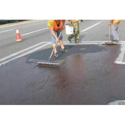 山东淄博沥青雾封层对道路的修复效果