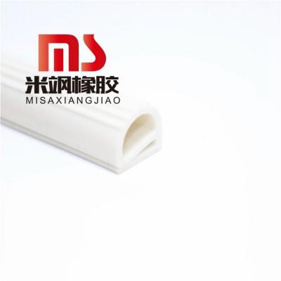 节能绿色环保大铁锅盖密封条 e型硅胶密封条