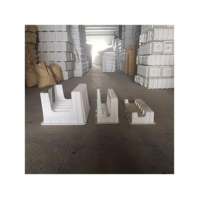铁路挡渣块塑料模具-水泥挡渣块预制件模具