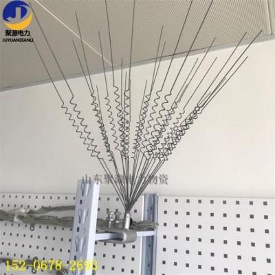 不锈钢防鸟刺 弹簧丝鸟刺 室外电力线路驱鸟器