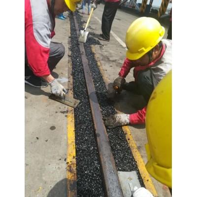 河北秦皇岛钢轨填充冷补沥青砂的二次填充简单和易性好