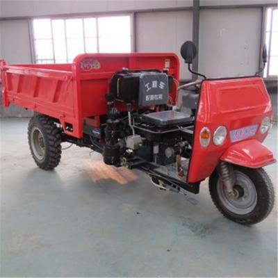 厂家供应液压翻斗农用矿用自卸三轮车柴油 电动三马子