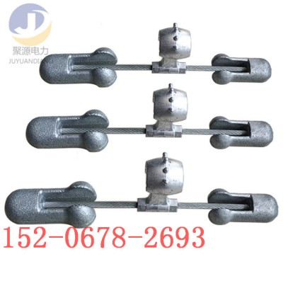 4D-20 预绞式防震锤 OPGW光缆金具电力金具