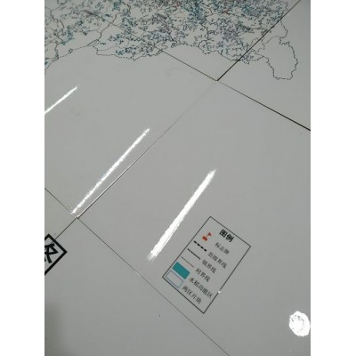 光缆走向陶磁标识牌   土地整理瓷砖标志牌哪家好