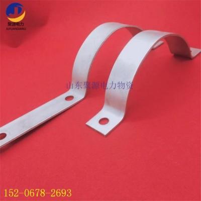 金具生产抱箍来图可定制 电杆专用 抱箍 杆用紧固夹具
