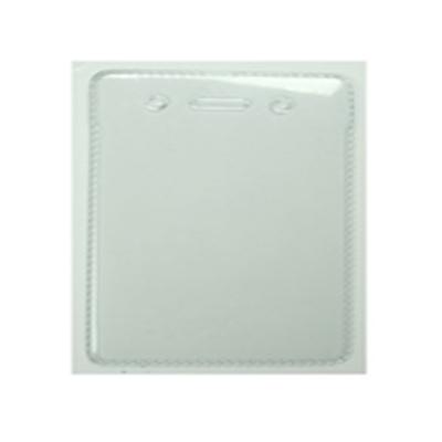 广州锁具贝迪防静电透明软身证件卡套竖式